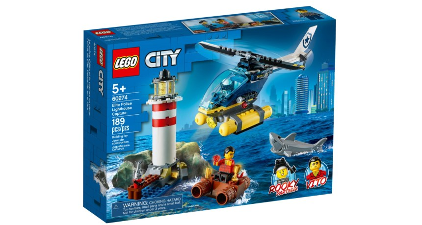 September 2020 sets: Lighthouse Rescue (60274)