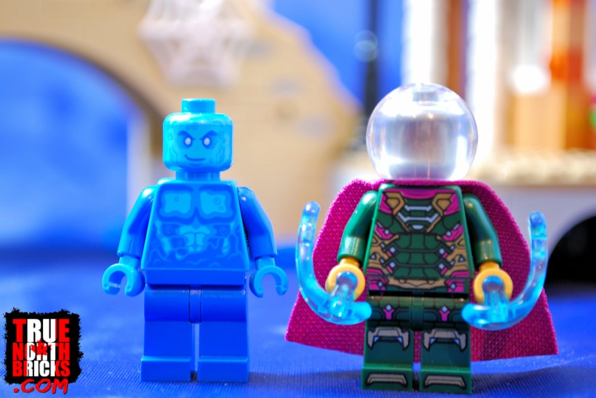 Hydro-Man and Mysterio from Hydro-Man Attack (76129).