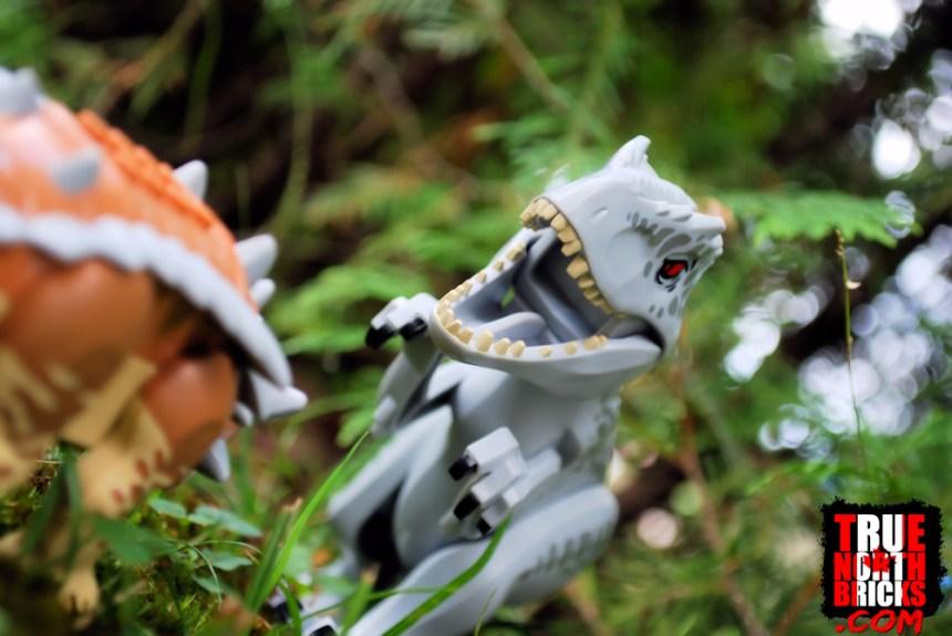 Indominus rex VS Ankylosaurus