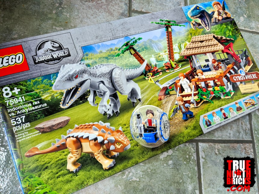 More stuff for July: Indominus rex VS Ankylosaurus set