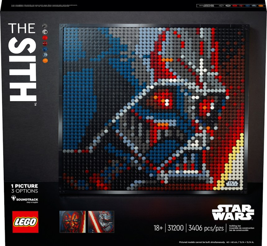 LEGO Art Kits: The Sith
