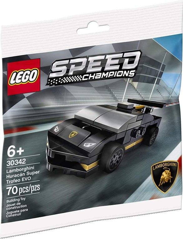 LEGO Store Lamorghini freebie.