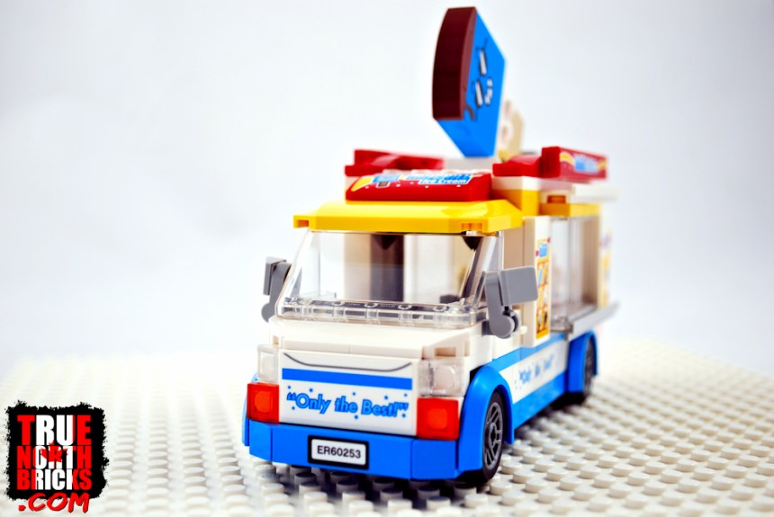Ice Cream Truck front view.