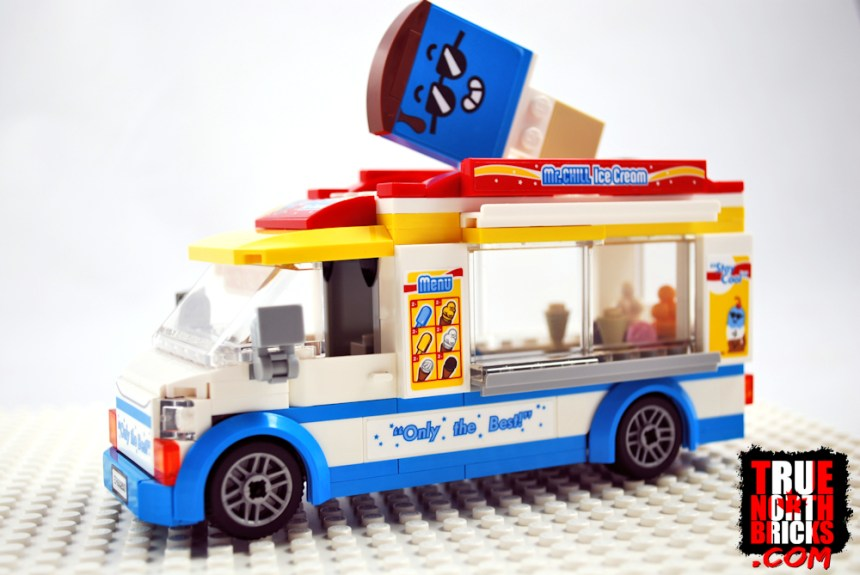 Ice Cream Truck side view