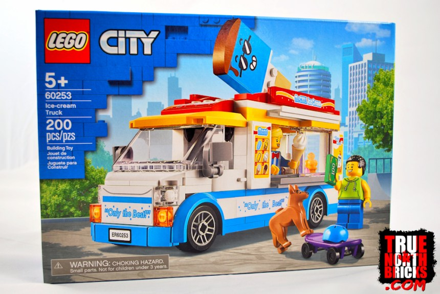 Ice Cream Truck (60253) box art.