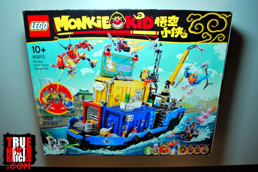 Monkie Kid's Secret HQ box art
