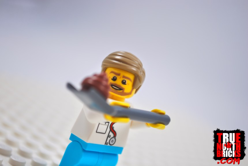 Doctors eat LEGO Bricks and have to search throuh excrement to find it afterwards.
