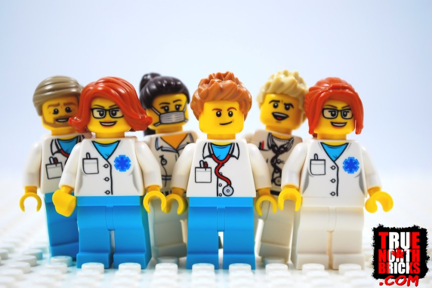 Six doctors ate LEGO Bricks.