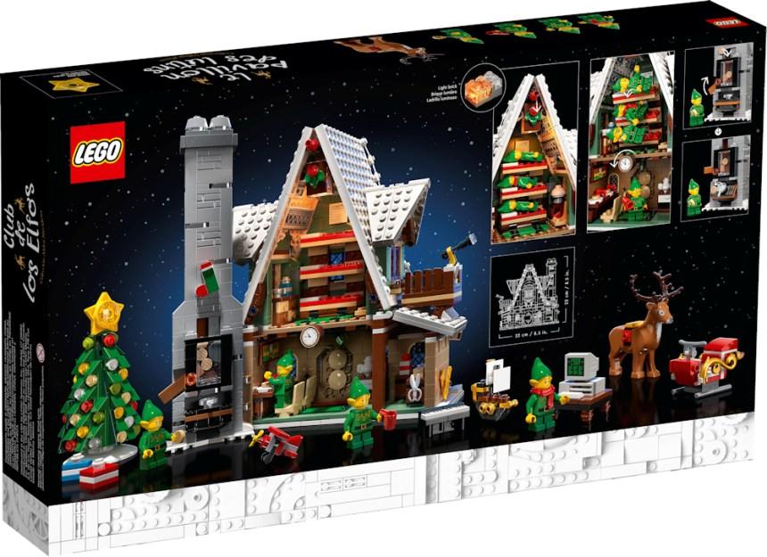 Rear box art for Elf Club House coming soon.