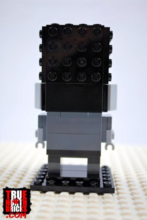 BrickHeadz Frankenstein (40422) rear view.