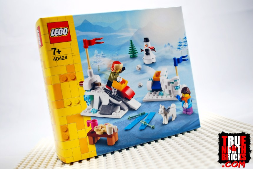 Winter Snowball Fight (40424) box art.
