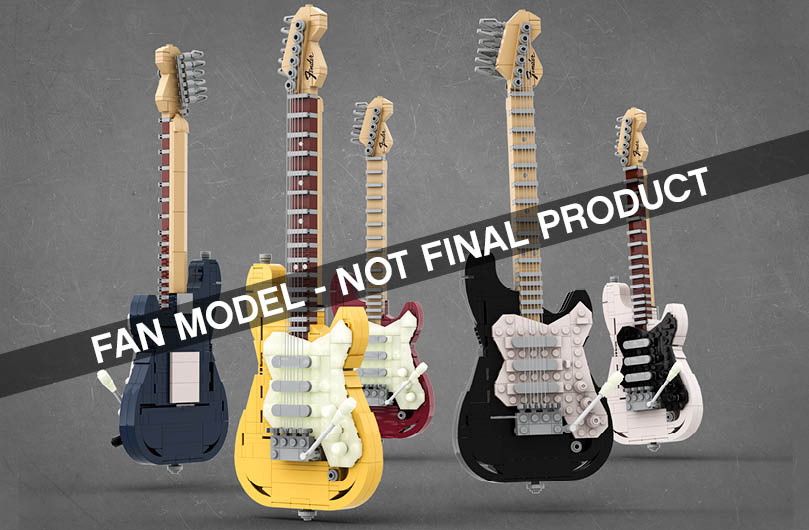 The first 2020 Ideas set review includes the Stratocaster.