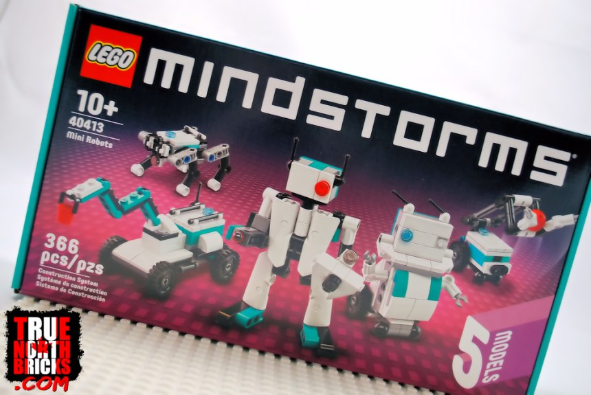 Mini Robots (40413) front box art.