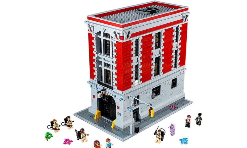 Top 10 Biggest Sets: Ghostbusters Firehouse Headquarters