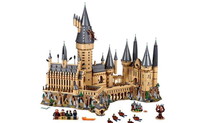 Top 10 Biggest Sets: Hogwarts Castle
