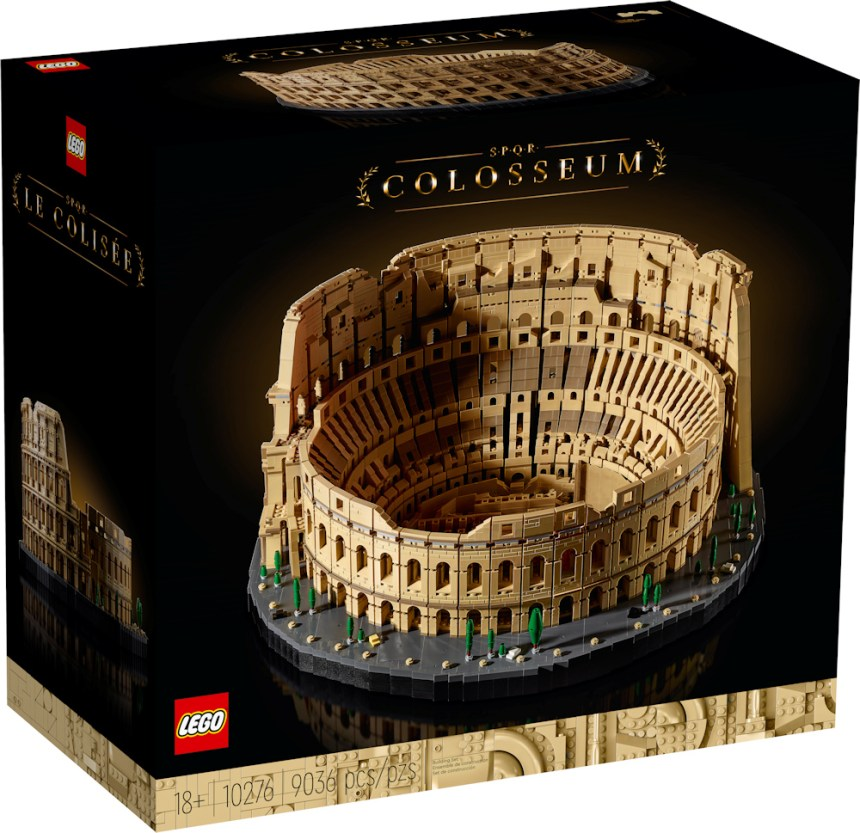 Box art for the LEGO Colosseum (10276) coming soon.