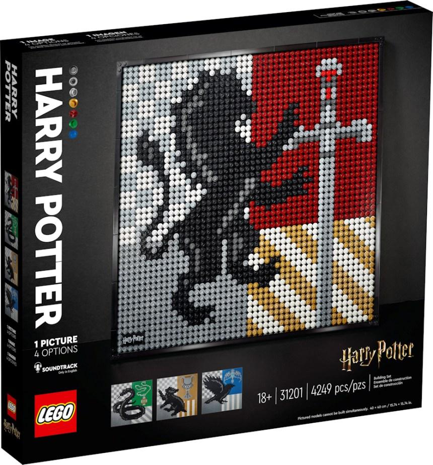 January 2021 LEGO® Art: Harry Potter