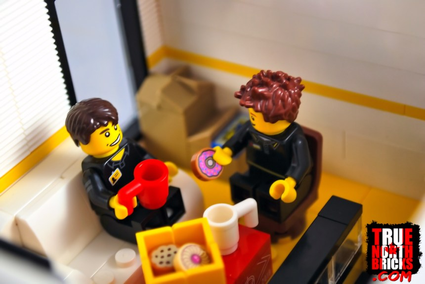 LEGO® and Men's Wear Stores Fourth Update: the break room.