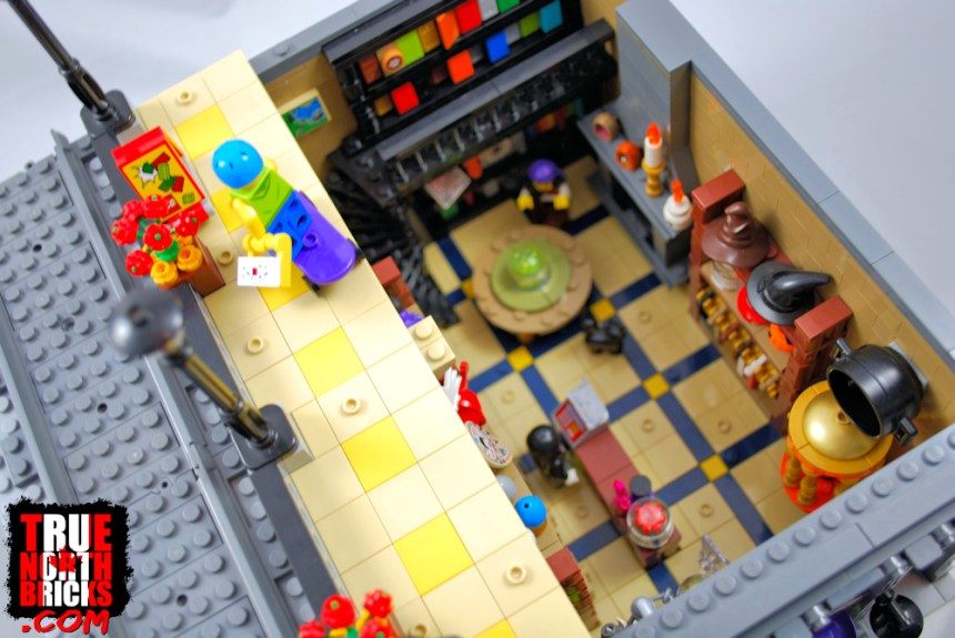 LEGO® and Men's Wear Stores fourth update: I had to rebuilt access to my Willa's Witching World store below.