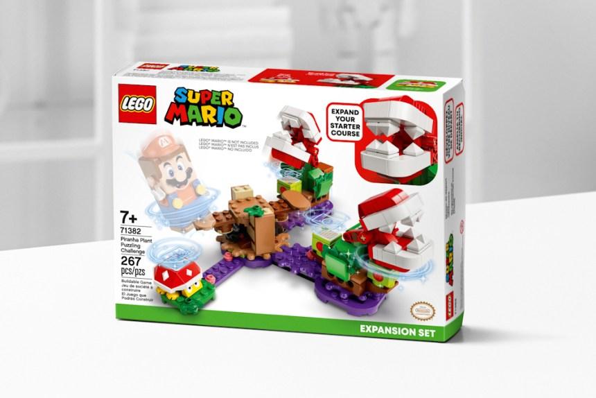 January 2021 Super Mario Piranha Plant Puzzling Challenge