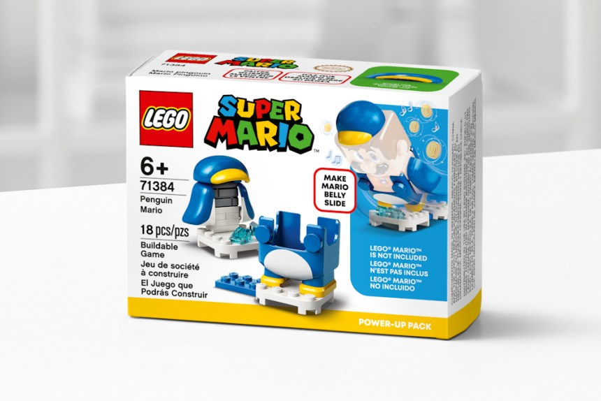 January 2021 Super Mario Penguin Mario Power Up Pack