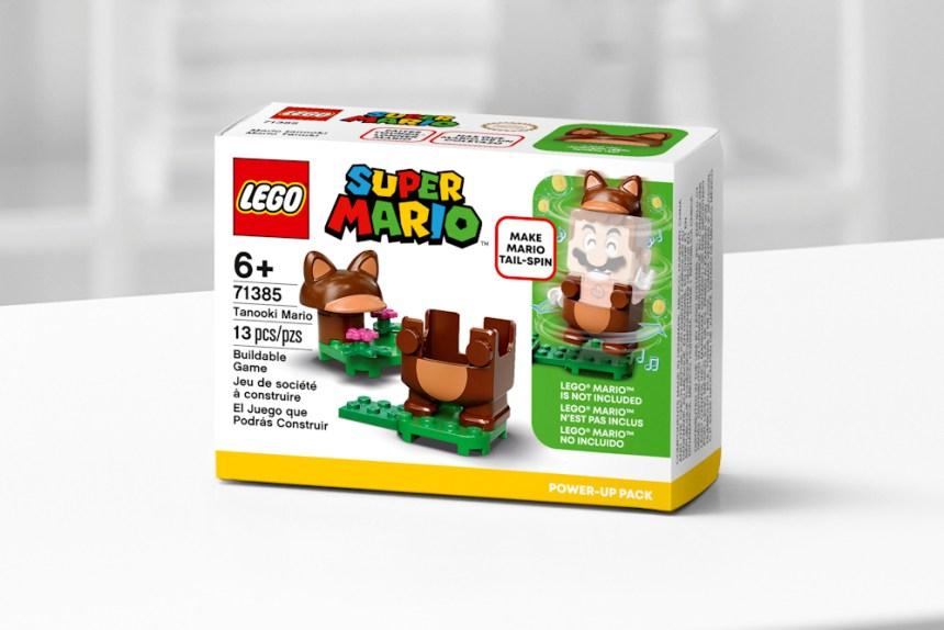 January 2021 Super Mario Tanooki Mario Power Up Pack