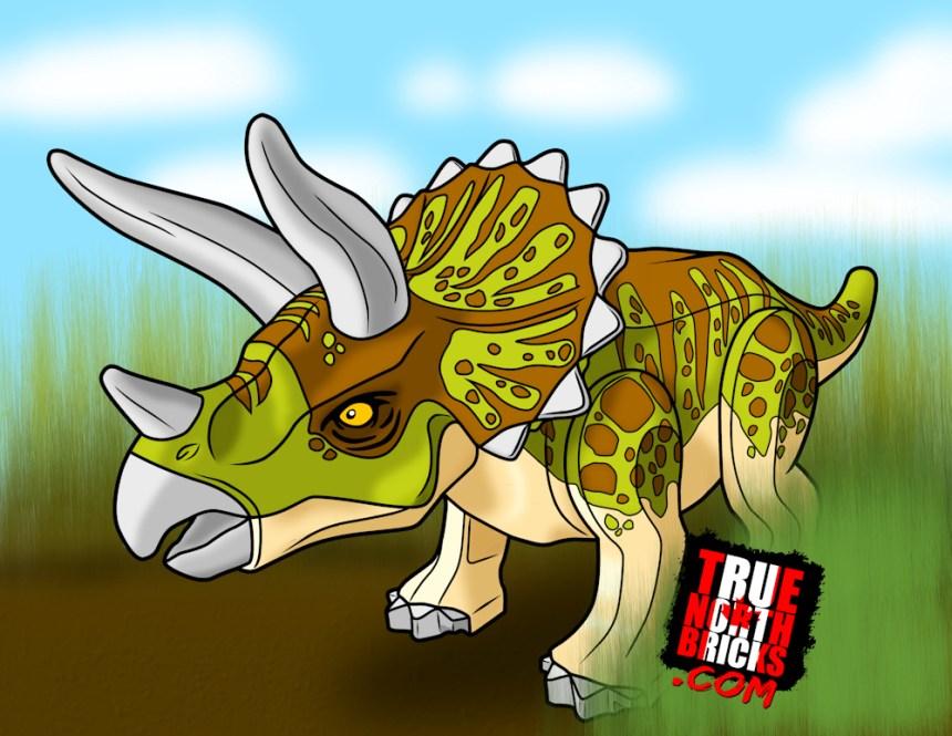 Triceratops Minifigure Monday