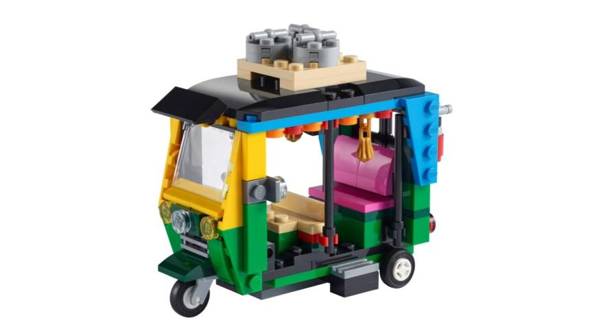 More January 2021 sets from LEGO: Tuk Tuk