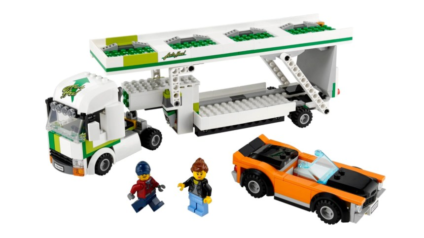 More January 2021 sets from LEGO: Car Transporter