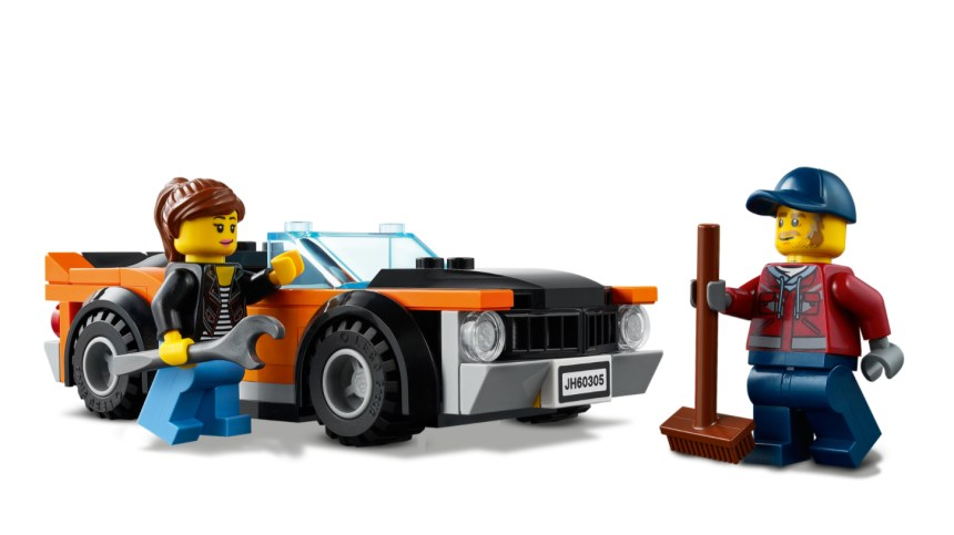 More January 2021 sets from LEGO: Car Transporter Minifigures