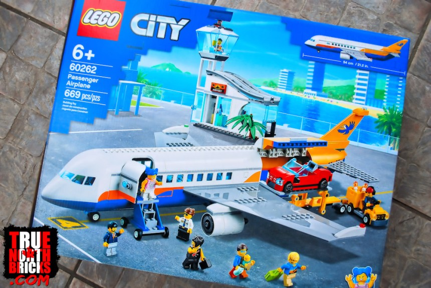 Passenger Airplane (60262) box art