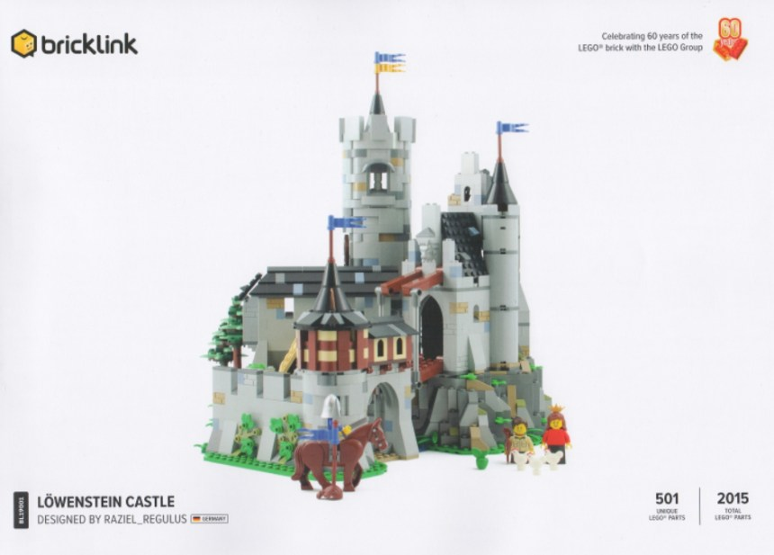 Past Bricklink Designer Program set: Lowenstein Castle.