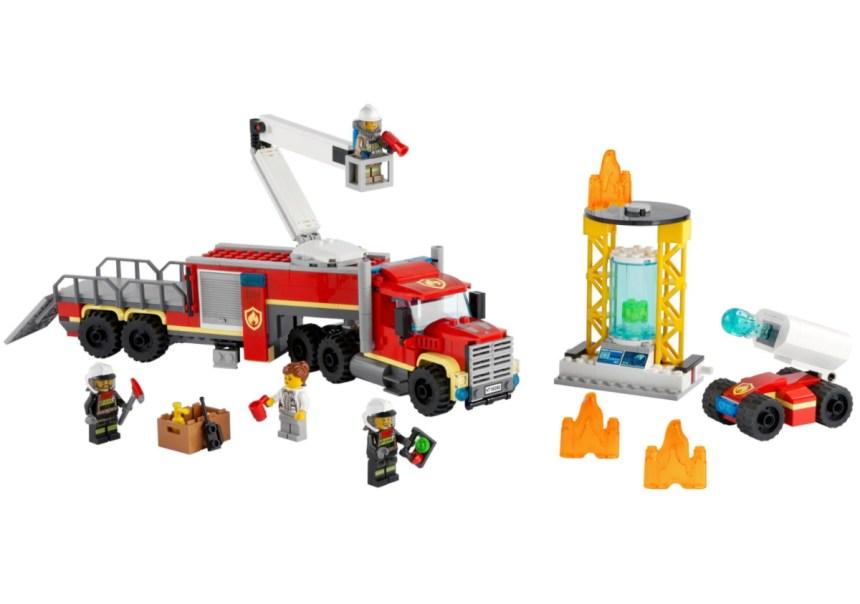 January 2021 City sets: Fire Command Unit