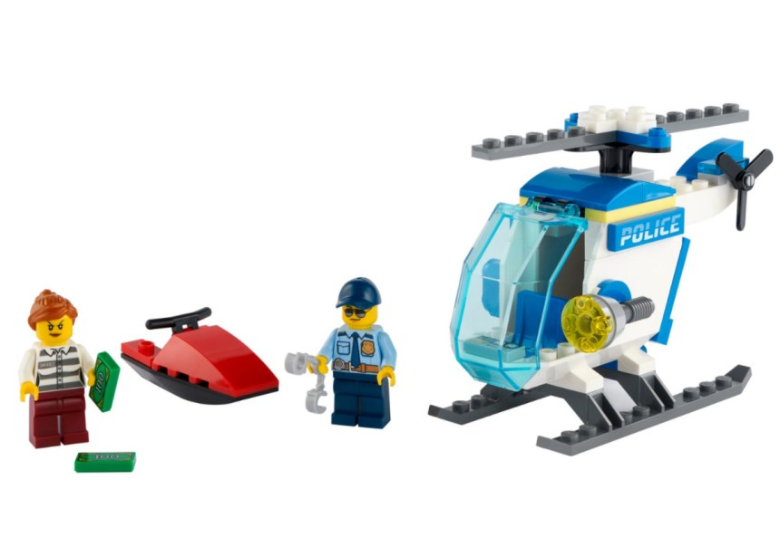 January 2021 City Sets: Police Helicopter