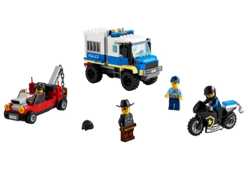 January 2021 City sets: Police Prisoner Transport