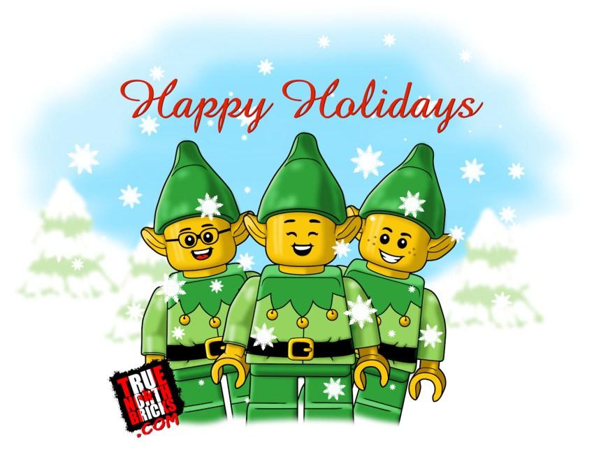 Happy Holidays 2020 from True North Bricks