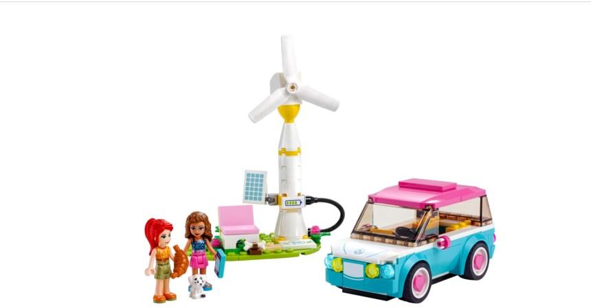 January 2021 Friends sets: Olivia's Electric car