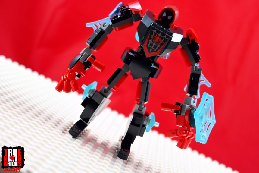 Miles Morales Mech Armor front view