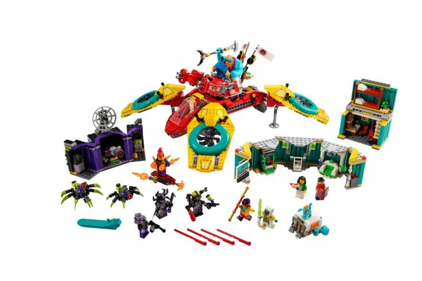 Monkie Kid's Team Dronecopter set