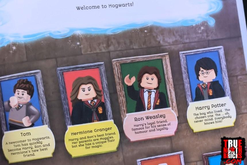 Your sig fig becomes part of the Hogwarts crew in the LEGO® Search and Find book.
