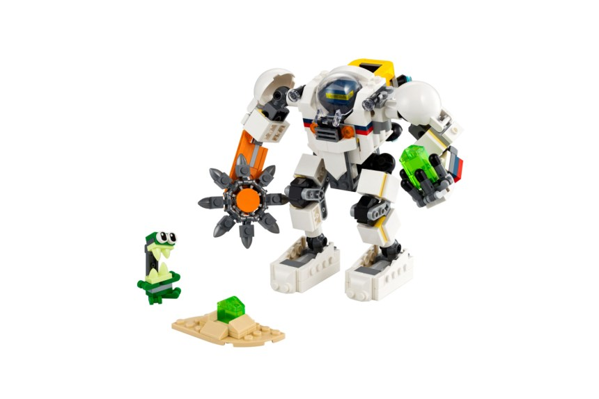 March 2021 Creator Sets: Space Mining Mech