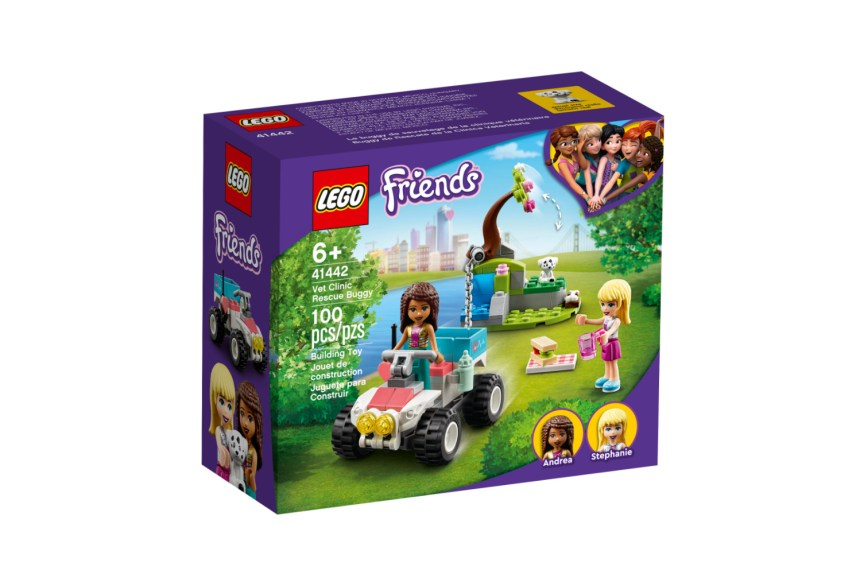 March 2021 Friends sets: Vet Clinic Rescue Buggy