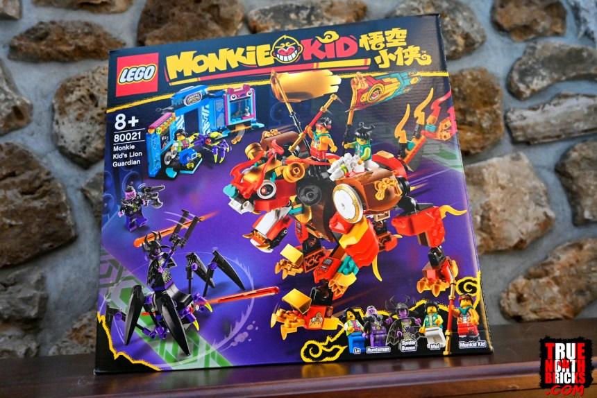 March 2021 Monkie Kid sets: Monkie Kid's Lion Guardian