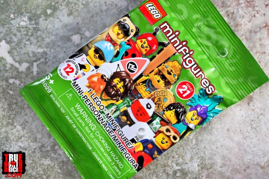 February 2021 LEGO® Haul Minifigures Series 21 packet.