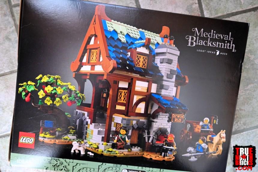 February 2021 LEGO® Haul: Medieval Blacksmith.