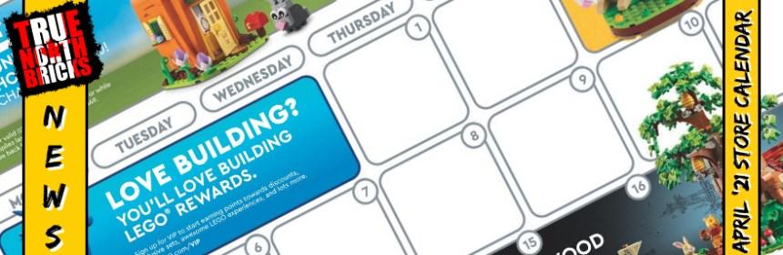 April 2021 Store Calendar