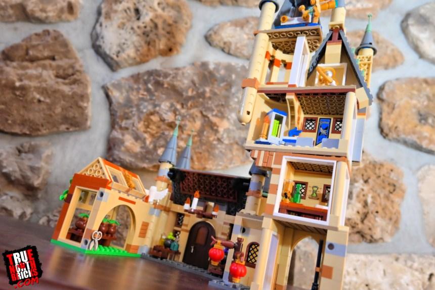 Hogwarts Astronomy Tower (75969) interior.