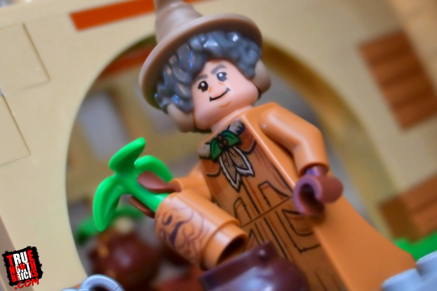 Professor Sprout from the second wave of Harry Potter collectible Minifigures.