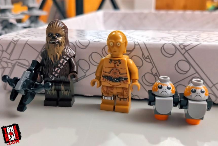Millennium Falcon Day 3 Minifigures.