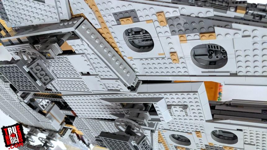 Underside of the UCS Millennium Falcon